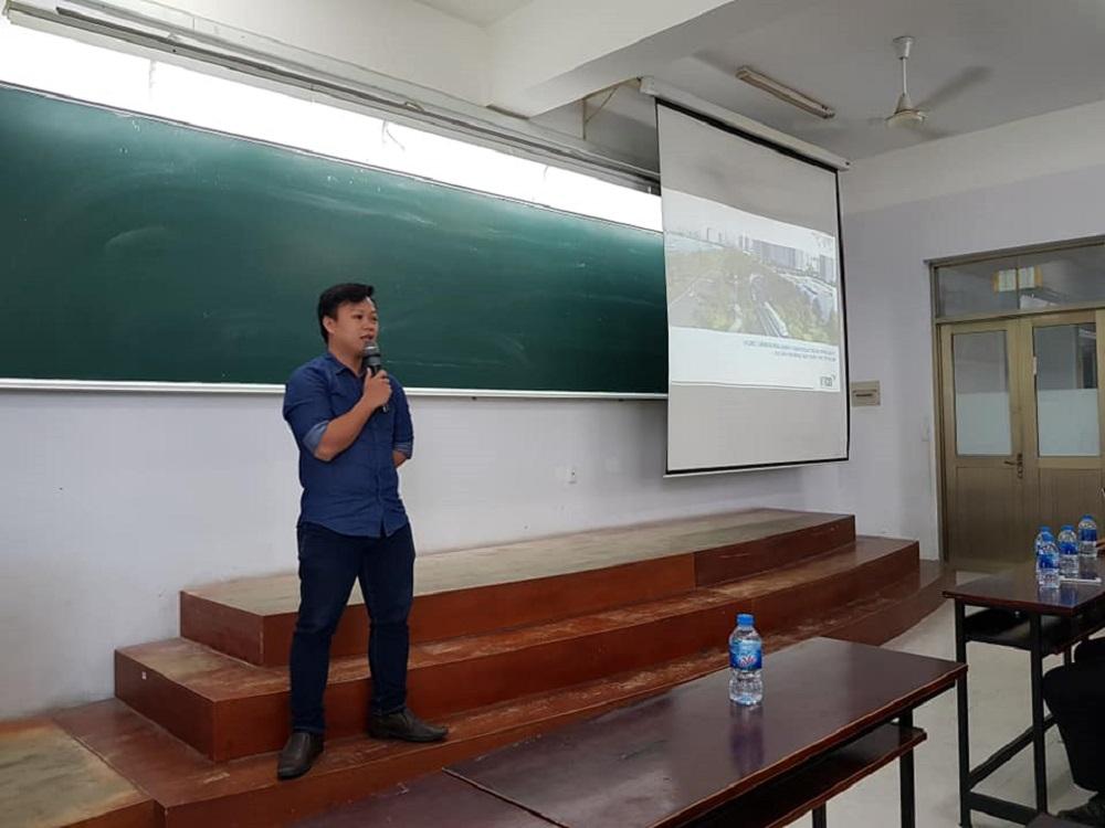 Ông Nguyễn Xuân Vi Kỹ sư thiết kế VTCO trình bày công nghệ mới trong thi công Metro Bến Thành – Suối Tiên