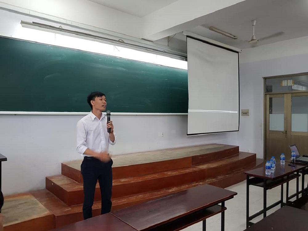 Ông Huỳnh Văn Nguyên kỹ sư thiết kế VTCO trình bày Parametric design trong thiết kế cầu